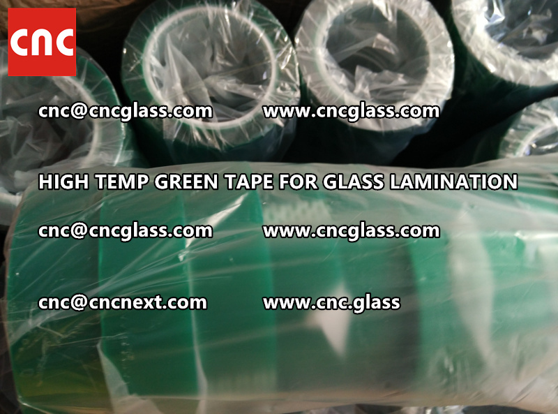 GREEN TAPE for EVA PVB SGP lamination (1)