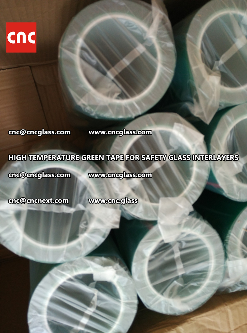 HIGH TEMP PET TAPE FOR SAFETY GLASS INTERLAYERS (2)