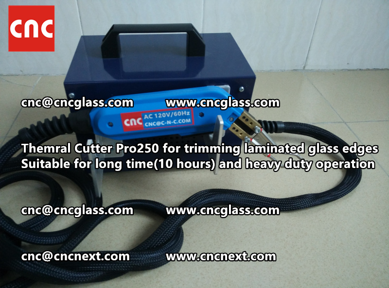 Thermal cutter hot knife heavy duty for trimming laminated glass edges (1)