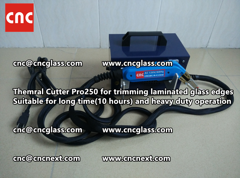 Thermal cutter hot knife heavy duty for trimming laminated glass edges (10)