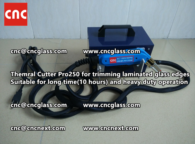 Thermal cutter hot knife heavy duty for trimming laminated glass edges (11)