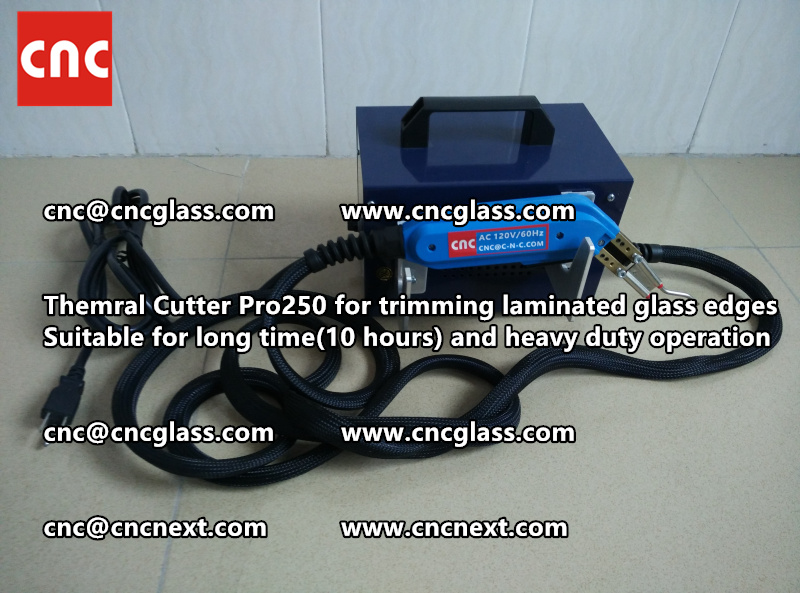 Thermal cutter hot knife heavy duty for trimming laminated glass edges (12)