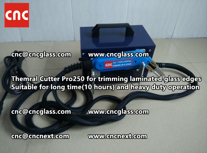 Thermal cutter hot knife heavy duty for trimming laminated glass edges (13)
