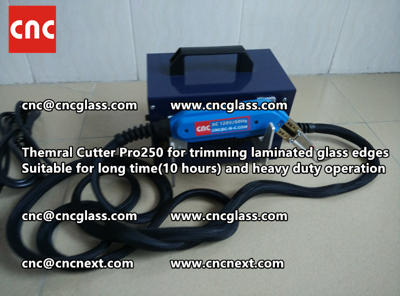 Thermal cutter hot knife heavy duty for trimming laminated glass edges (14)