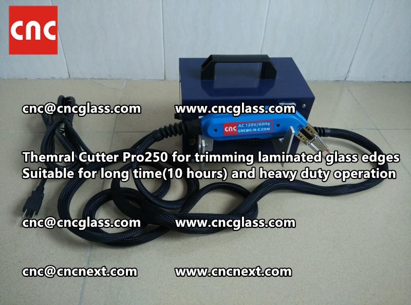 Thermal cutter hot knife heavy duty for trimming laminated glass edges (3)