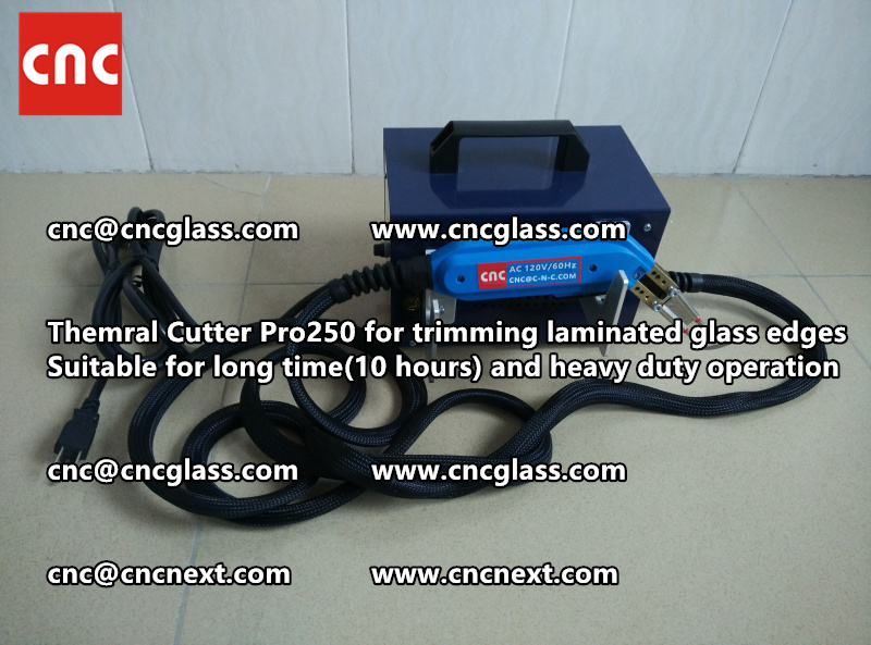 Thermal cutter hot knife heavy duty for trimming laminated glass edges (6)