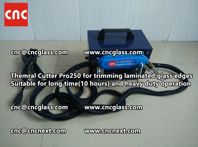Thermal cutter hot knife heavy duty for trimming laminated glass edges (7)