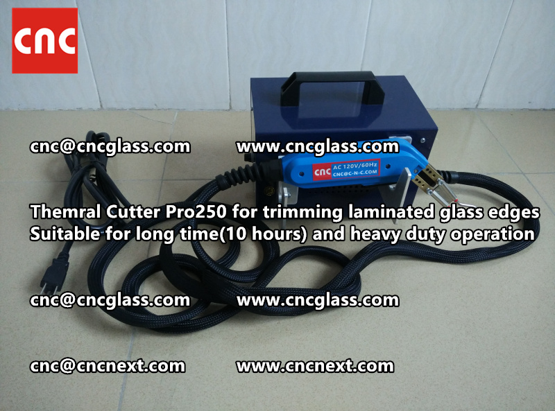 Thermal cutter hot knife heavy duty for trimming laminated glass edges (9)